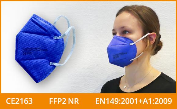 FFP2 Maske (5er Pack), blau